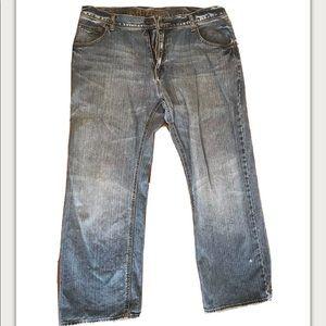 Arizona Jean Co. Mens Jeans Loose Straight 38 x 30